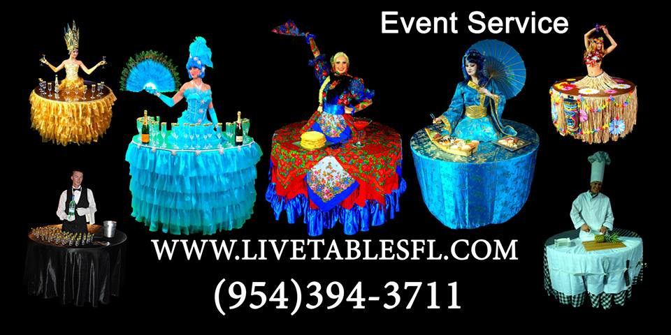 Live Tables Entertainment and Catering