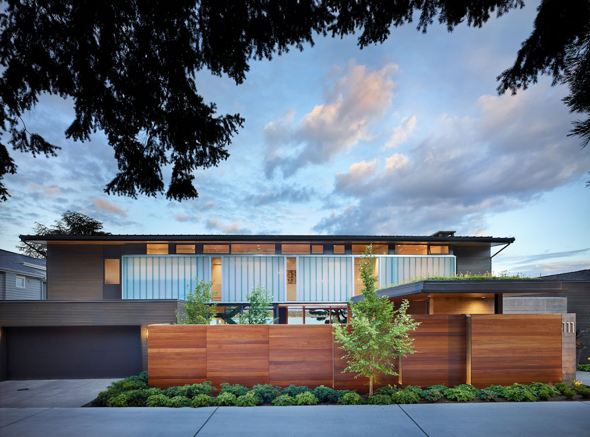 Courtyard House в Seattle