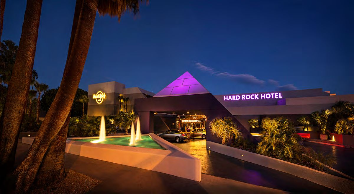 Hard Rock Cafe в Palm Springs