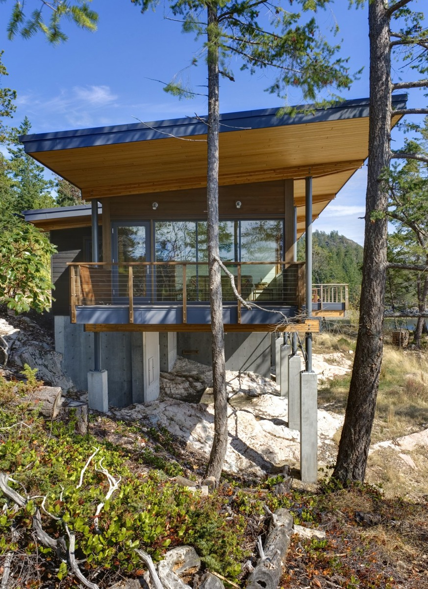 Cortes Island Residence