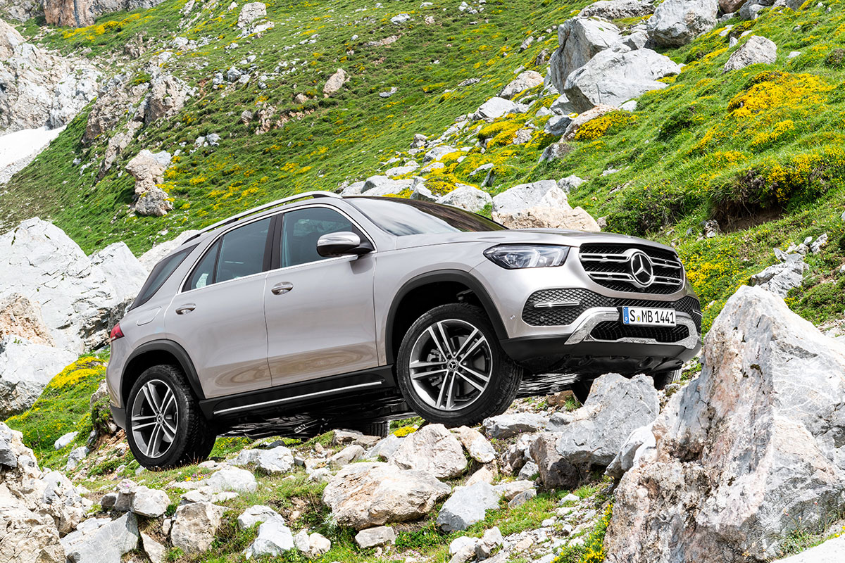 Новый Mercedes-Benz GLE