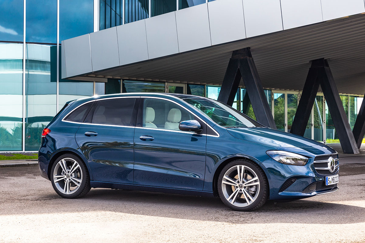 The New Mercedes-Benz B-Class