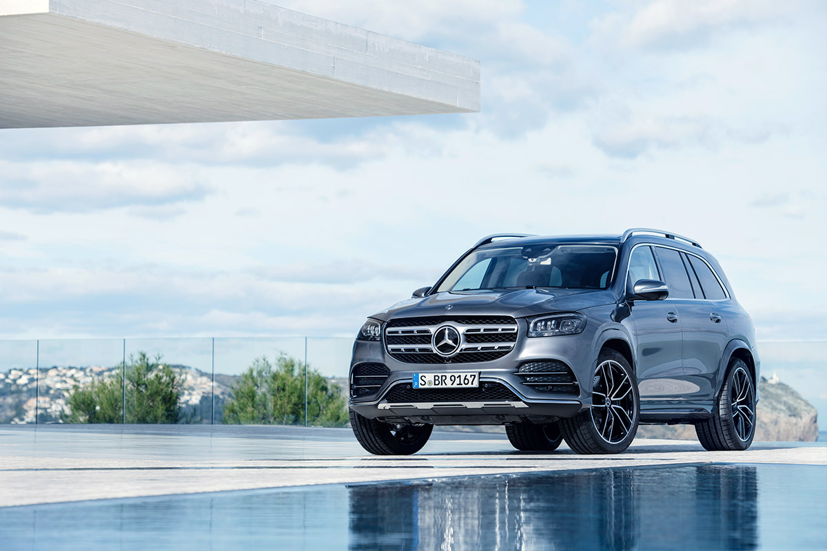 Новый Mercedes-Benz GLS